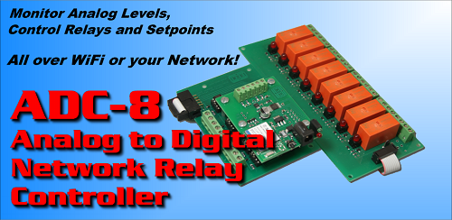 Analog to Digital Network App for Android