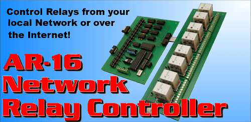 Network Relay Control App for Android