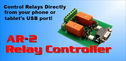 AR-2 Relay Control App for Android