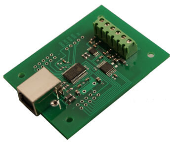 USB Temperature Interface (4 channel)