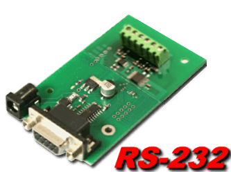 RS-232 Digital to Analog (4 channel, 10 and 12 bit)