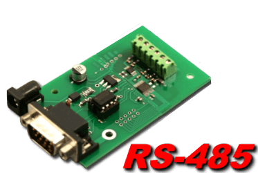 10 bit, 4 channel RS-485 Analog to Digital Converter