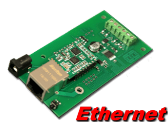 Ethernet Analog to Digital (4 channel, 10 and 12 bit)