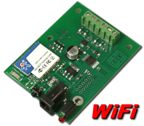 WiFi Digital to Analog (4 channel, 10 and 12 bit)
