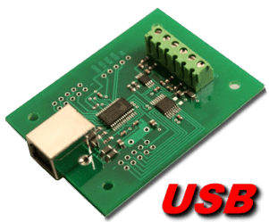 USB Digital to Analog (4 channel, 10 and 12 bit)
