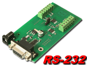 RS-232 Temperature Interface and Logger, 12 Channel