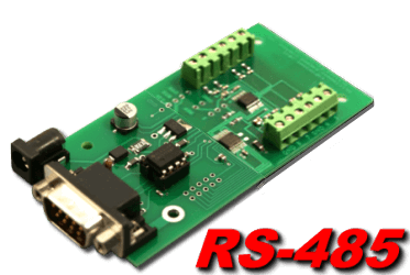 RS-485 Analog to Digital (8, 10 and 12 bit)