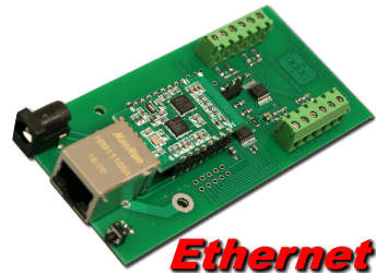 Ethernet Digital to Analog (8, 10 and 12 bit)