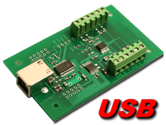 USB Analog to Digital (8, 10 and 12 bit)