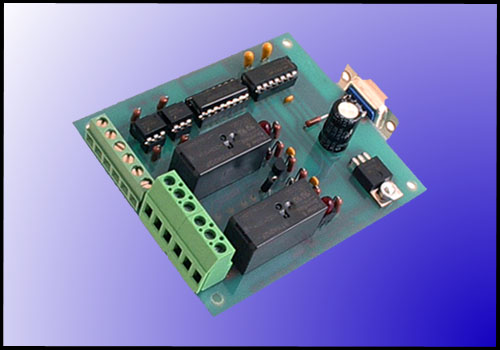 Digital Inputs with Relay Interface to RS-232