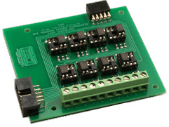 EX-8MS Side Mount Relay Expansion Card
