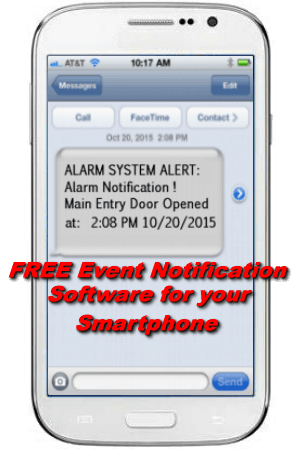 SMS Event Notification for your Smartphone